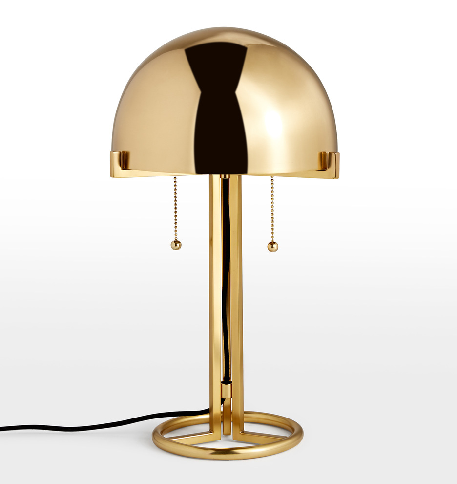 Altadena Metal Shade Table Lamp by Rejuvenation
