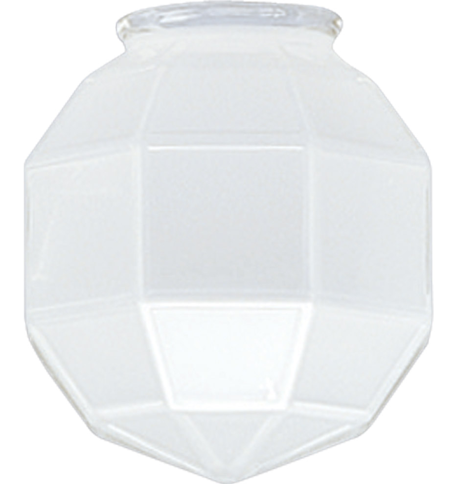 Craftsman Frosted Faceted Shade by Rejuvenation