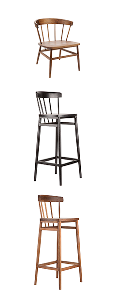 Shaker Chairs and Bar Stools