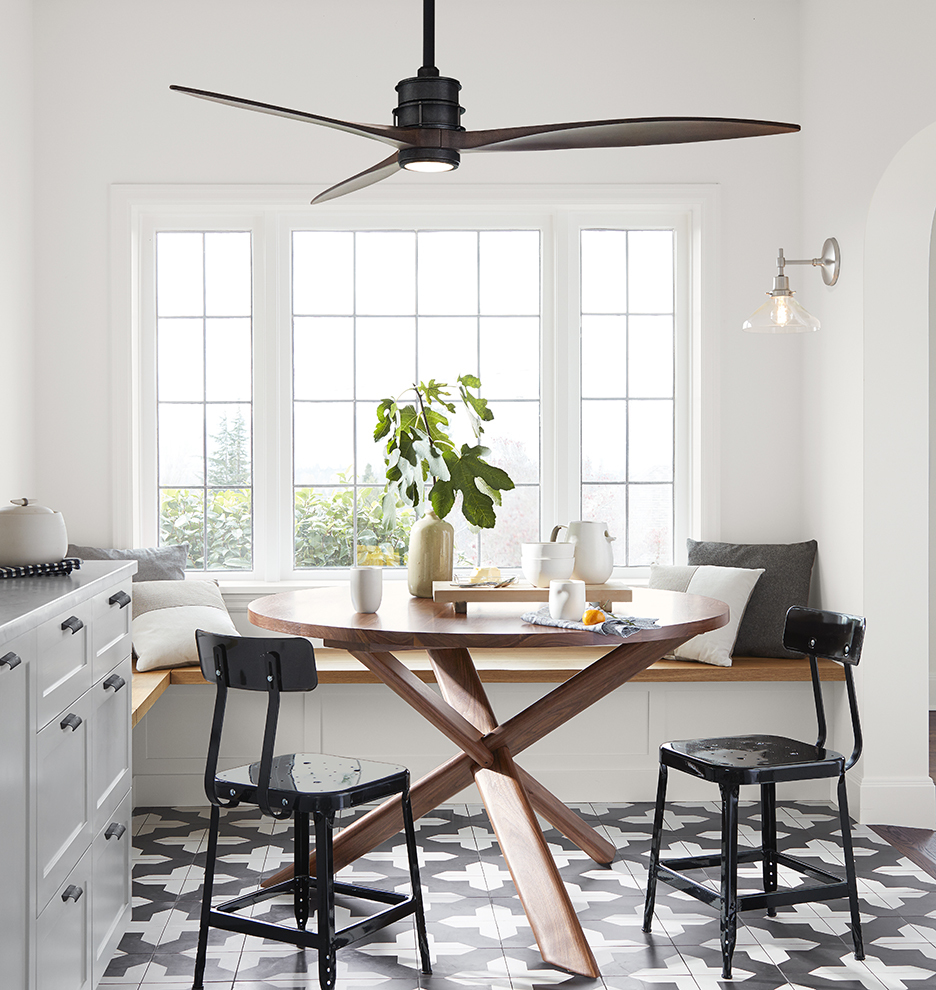 dining room fan.  Falcon Ceiling Fan No Light 3 Blade Rejuvenation