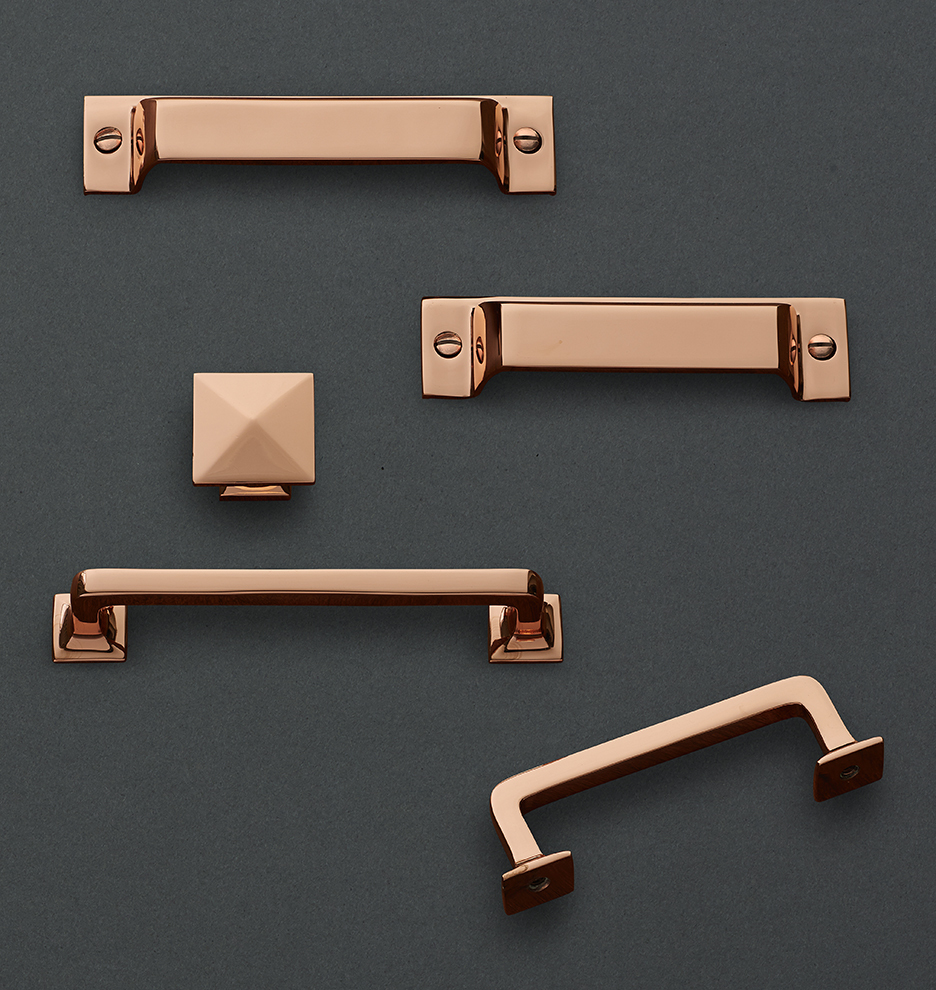 Copper Mission Drawer Pull | Rejuvenation