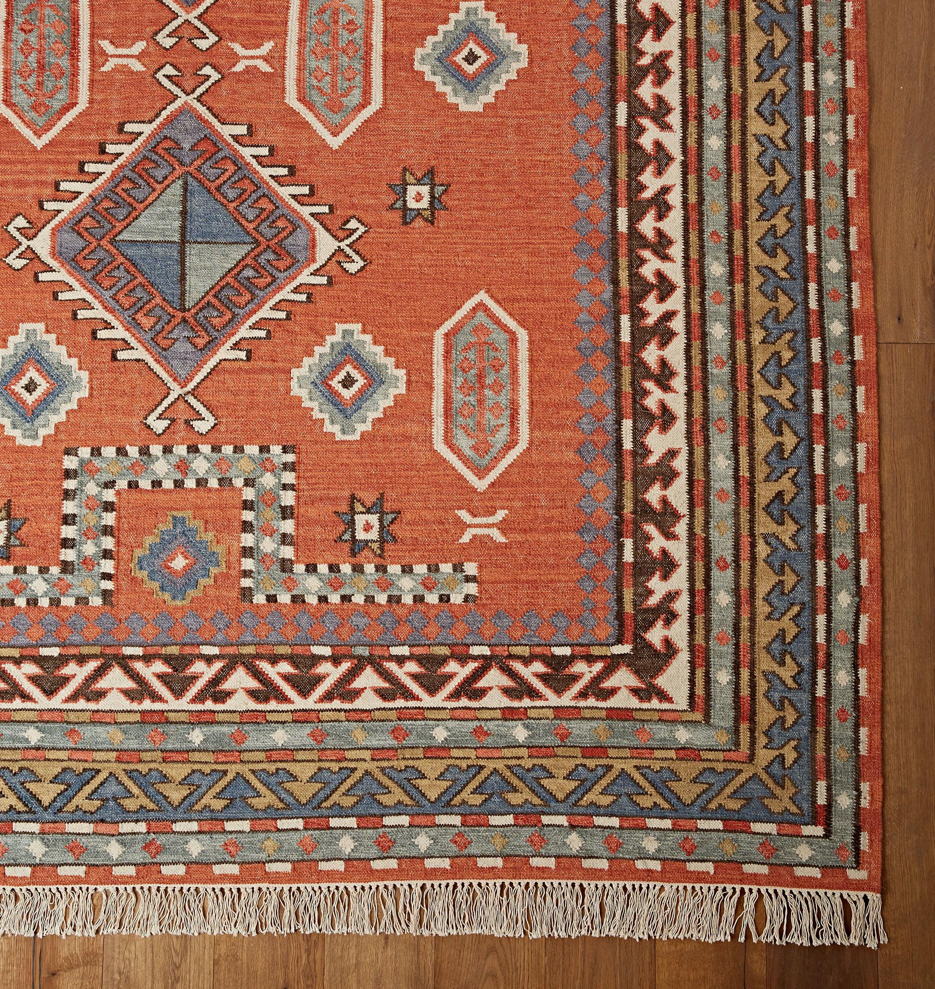 Hand woven Rugs Flatweave Rugs Indoor & Outdoor Rugs Vintage