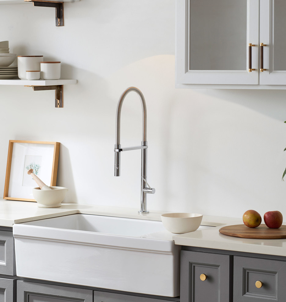Culinary Pull Down Kitchen Faucet | Rejuvenation