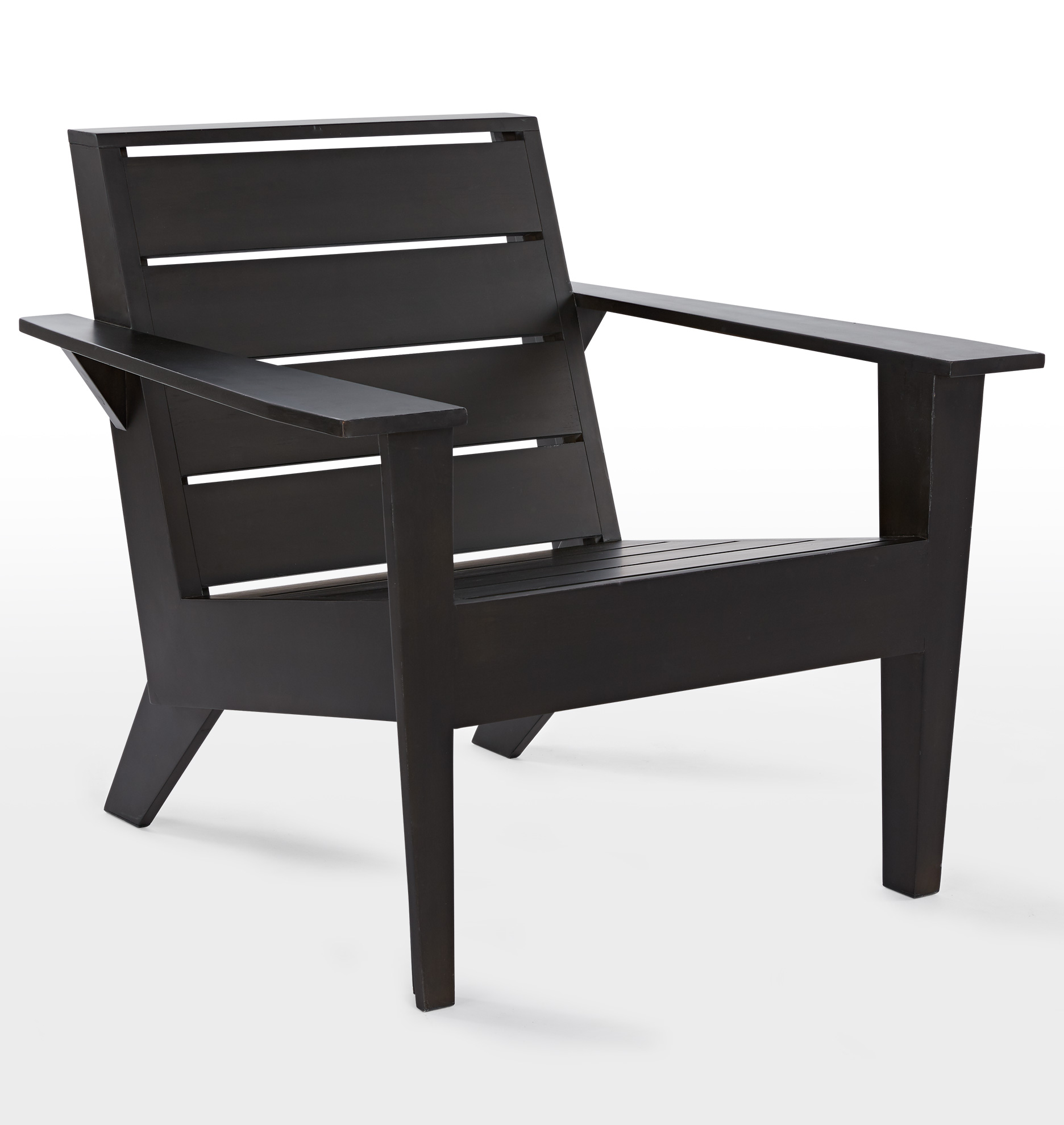 Arcadia adirondack chair and side table