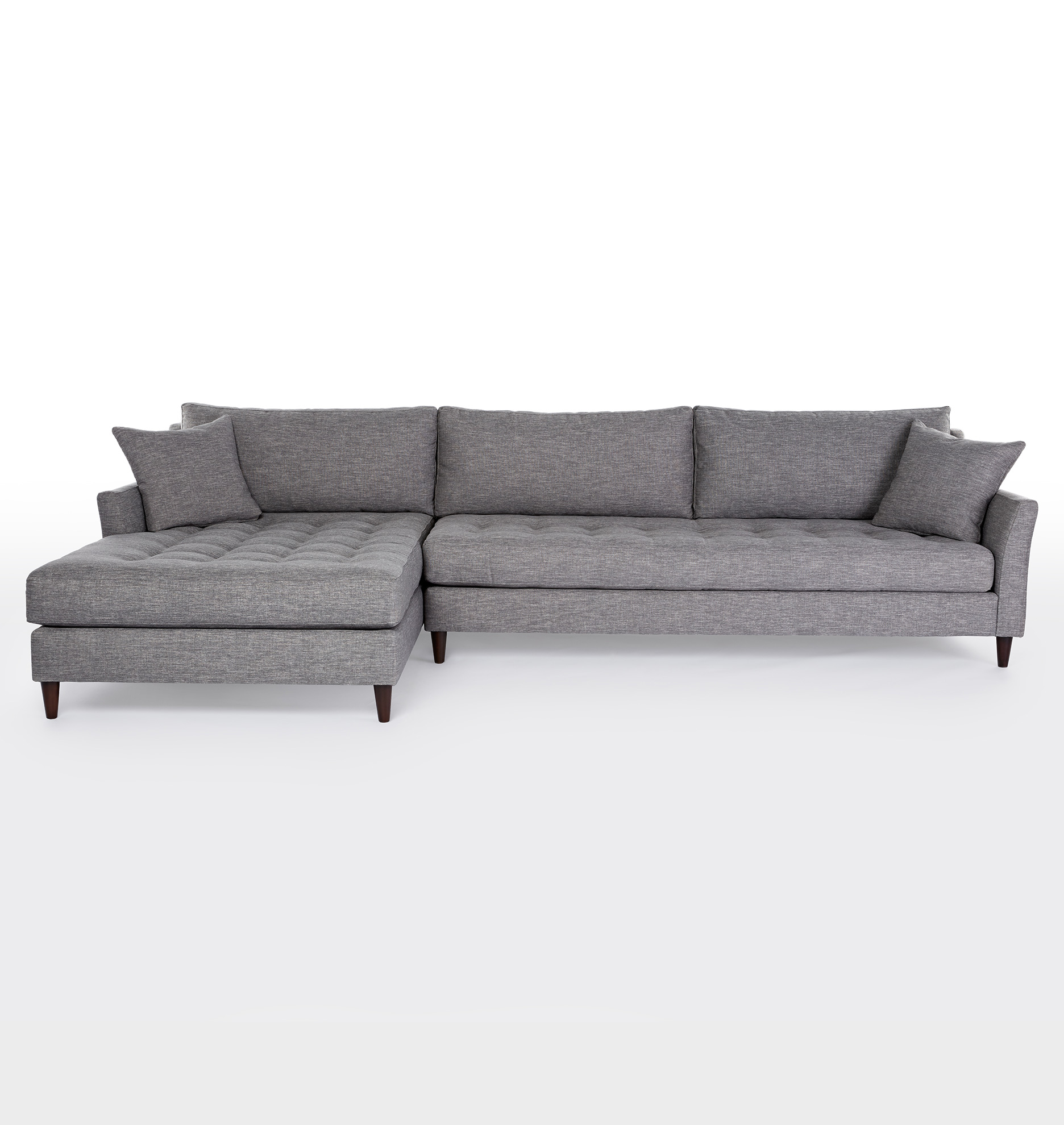 Hawthorne Sectional Sofa Chaise Right Rejuvenation