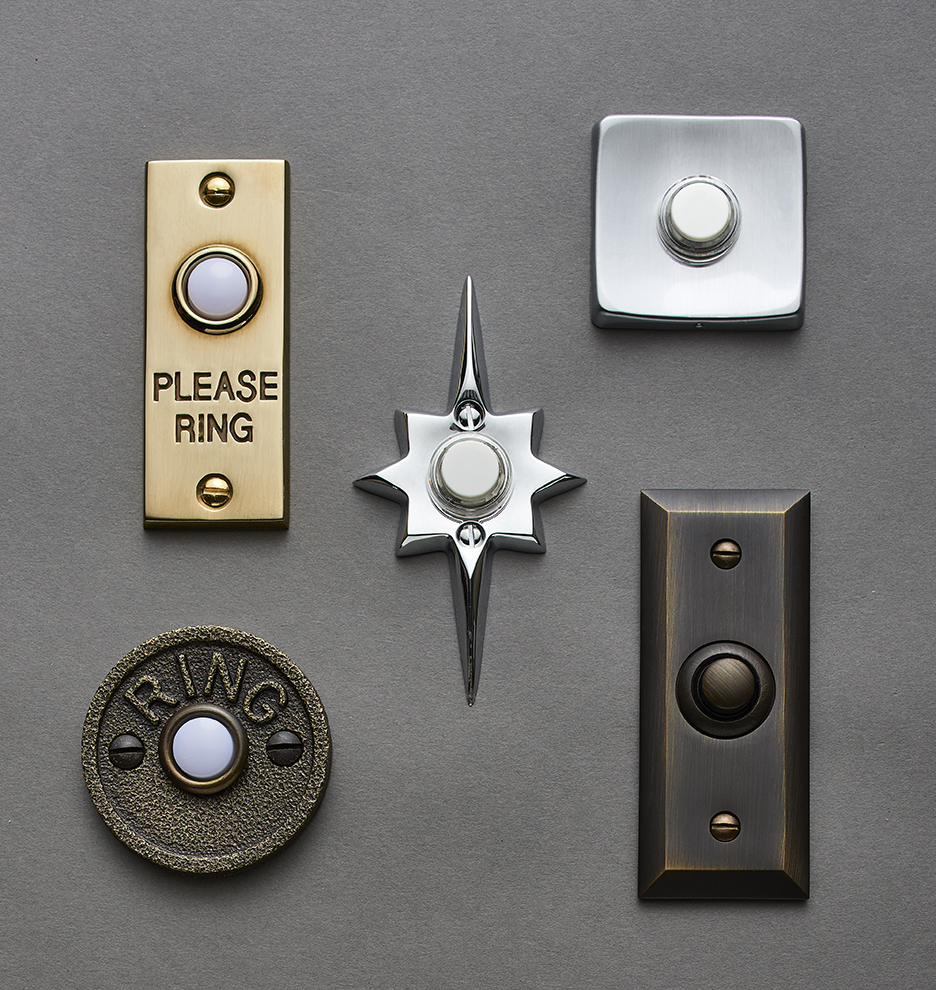 ships FREE & Putman Doorbell Button | Rejuvenation