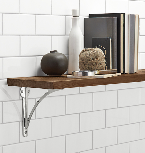 Product Description. With A Classic Brass Design, Our Arched Shelf Brackets  ...