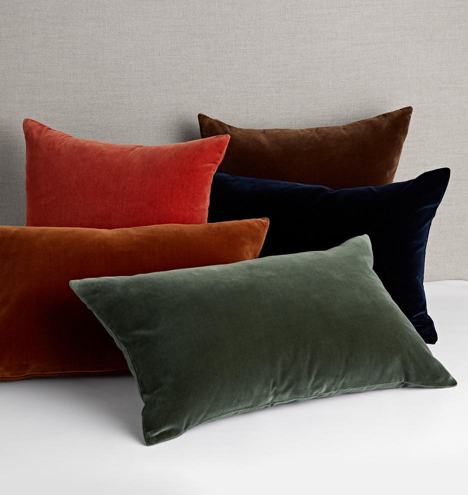 Italian Velvet Pillow Cover | Rejuvenation