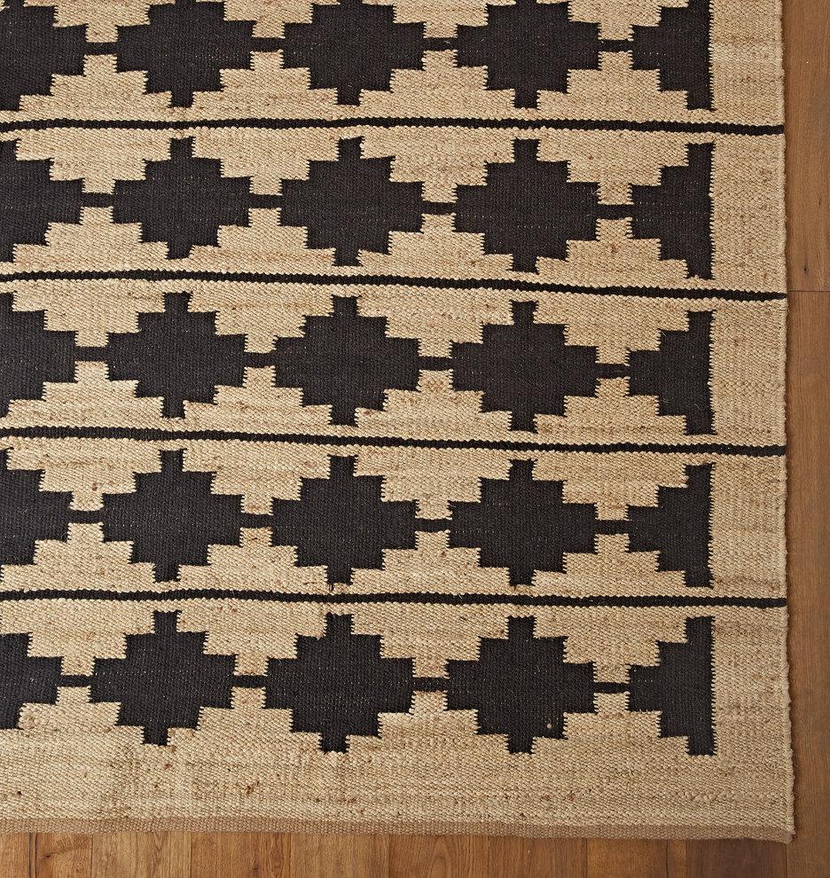 Bowen Flatweave Jute Wool Rug Rejuvenation