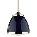 Laurelhurst 8in. Pendant with Metal Dome and Glass Lens