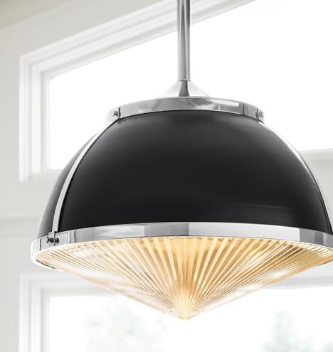 Laurelhurst 16 Quot Metal Dome Amp Glass Lens Pendant Rejuvenation