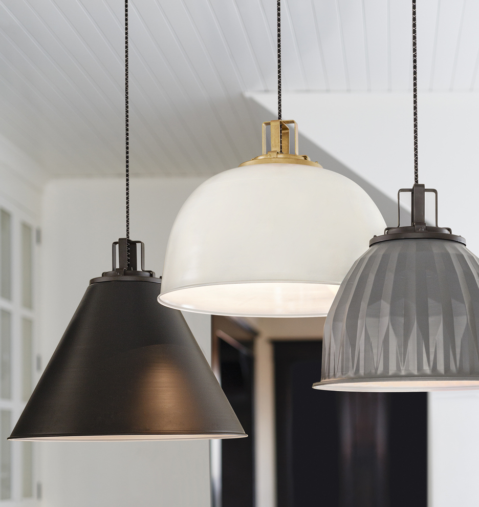 dome products pendant clay navy lighting