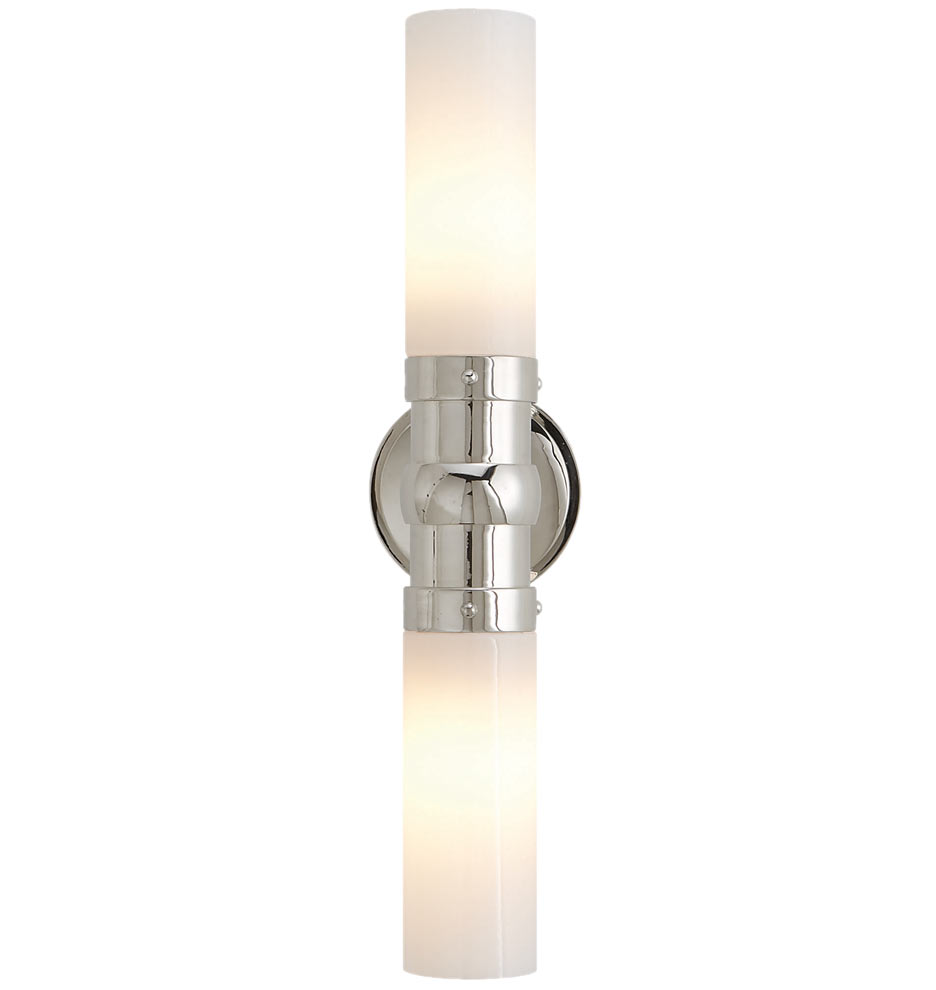 wall andrew sconce polished nickel lighting design arc regina
