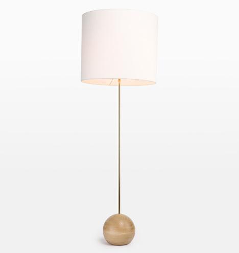 Stand Drum Shade Floor Lamp Rejuvenation