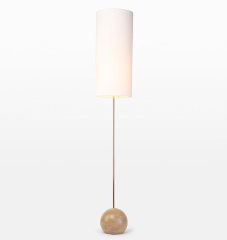 Stand Cylinder Shade Floor Lamp Rejuvenation
