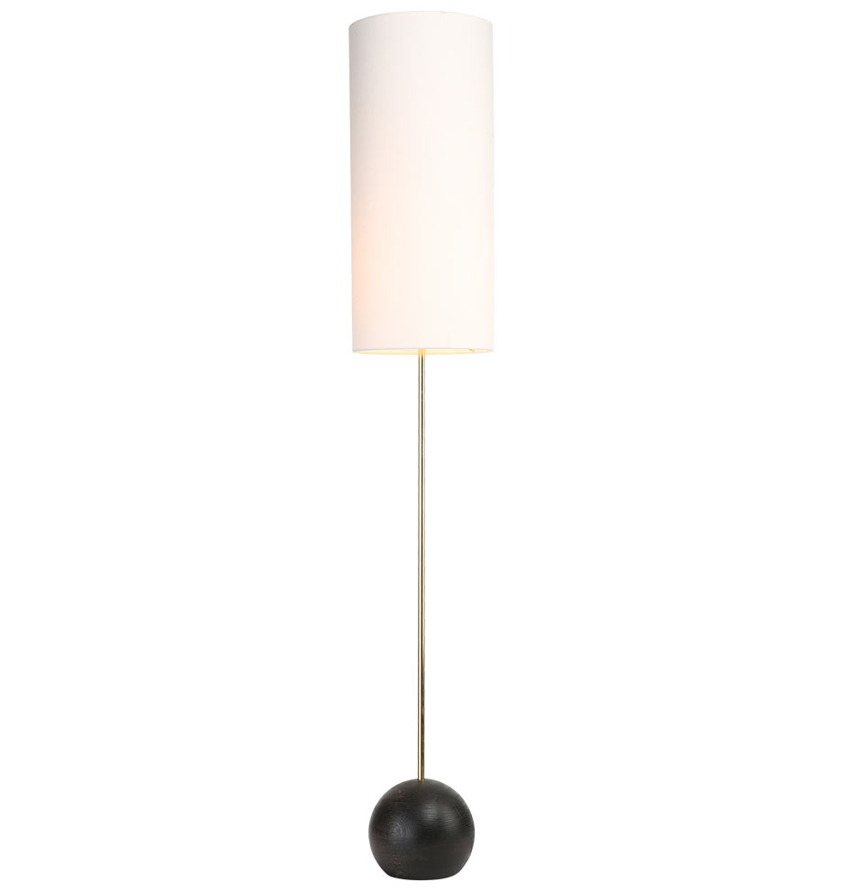 Stand cylinder shade floor lamp rejuvenation mozeypictures Gallery