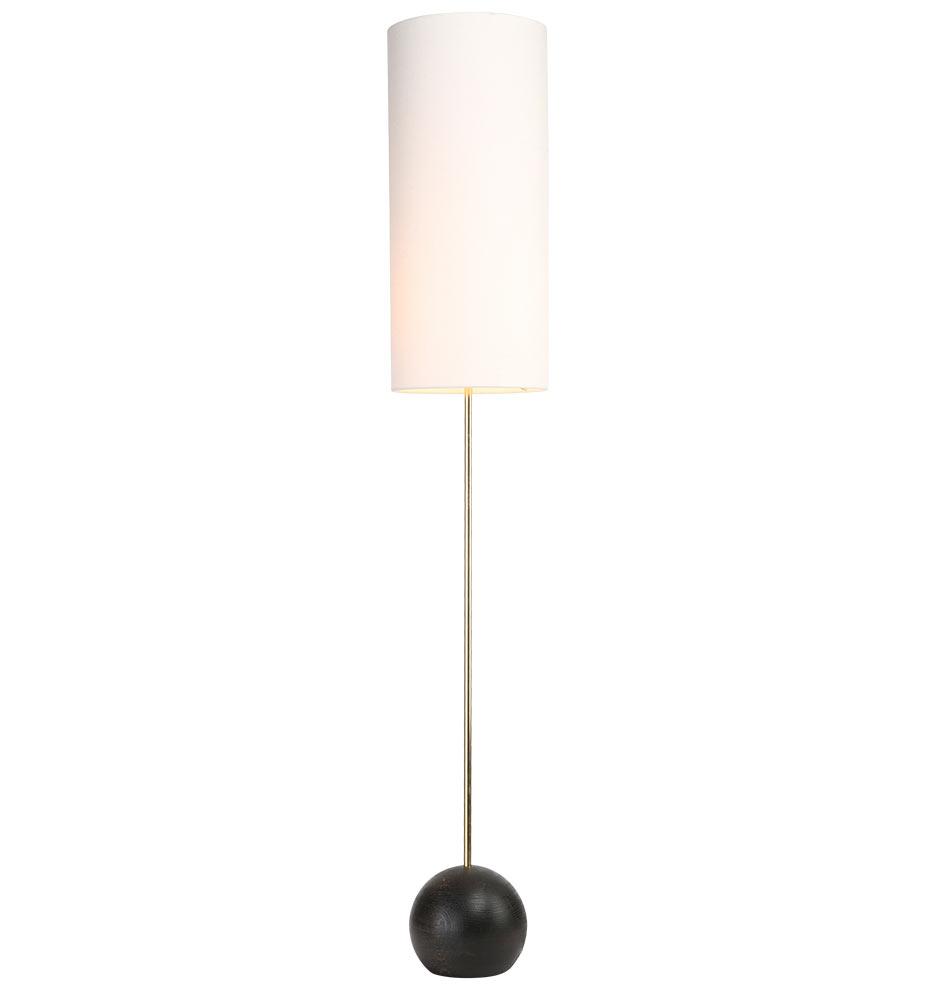 Stand cylinder shade floor lamp rejuvenation aloadofball Image collections