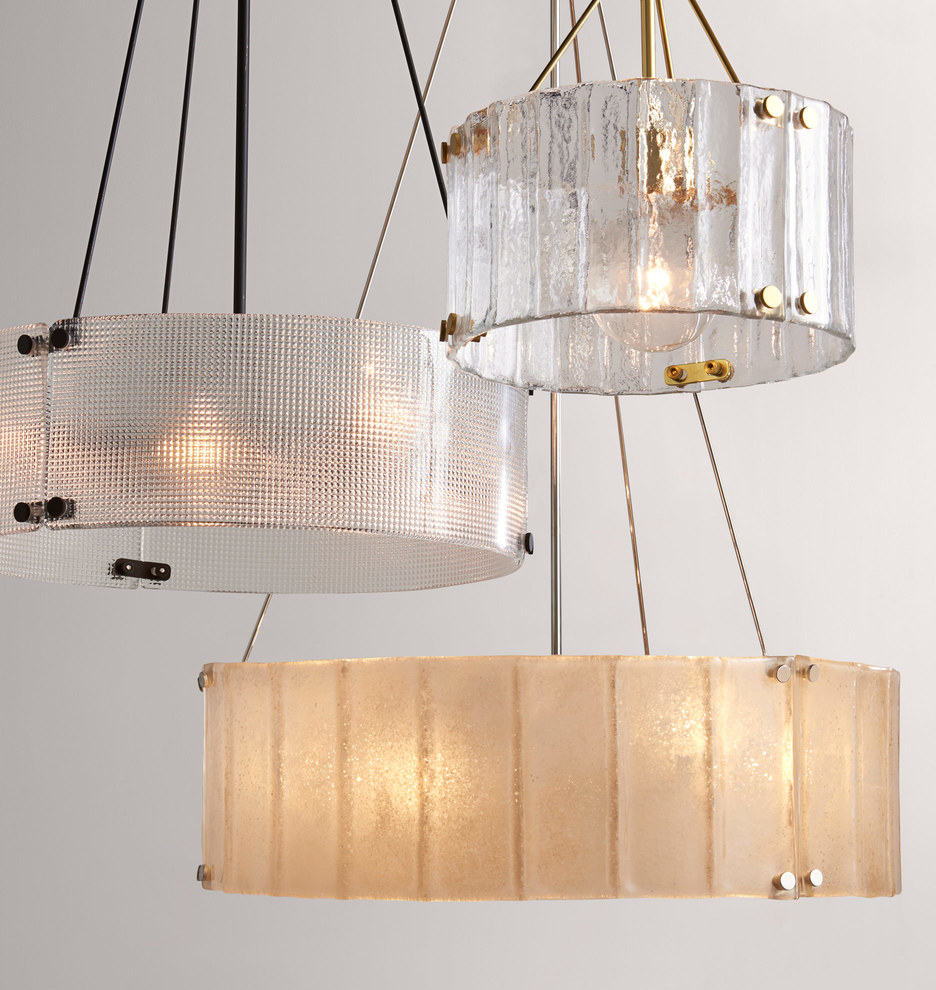 design glass pottery chandelier chandeliers com recycled small emery barn funky closdurocnoir by