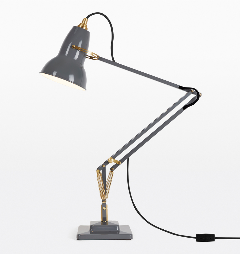 low priced 234c5 f2323 Anglepoise Original 1227 Brass Desk Lamp