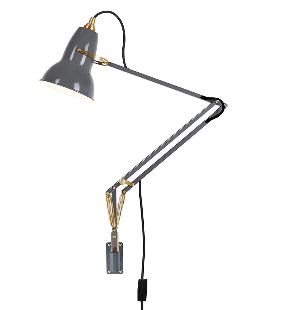 Anglepoise original 1227 brass wall light rejuvenation aloadofball Choice Image