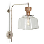 Nehalem 6in. Swing Arm Sconce