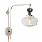Nehalem 3-1/4in. Swing Arm Pin-up Sconce