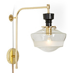 Nehalem 4in. Swing Arm Pin-up Sconce