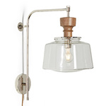 Nehalem 6in. Swing Arm Pin-up Sconce