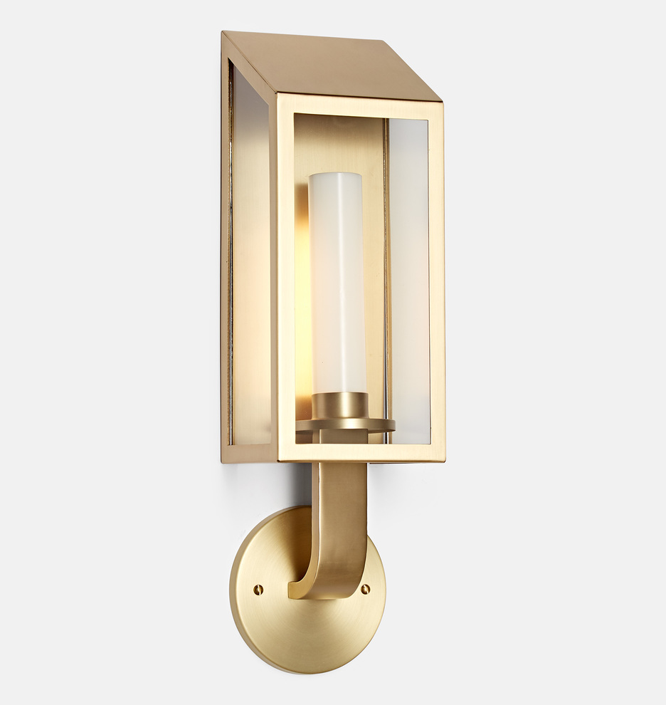 revisited klammer sonneman led by wall lg from sconce bauhaus tall