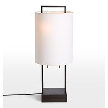 glass cylinder lamp brushed chrome touch dixon tall cylinder shade table lamp desk lamps glass small lamps rejuvenation