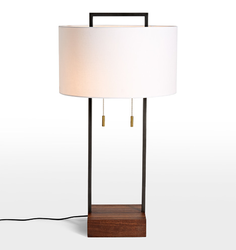 Dixon Tall Drum Shade Table Lamp Rejuvenation