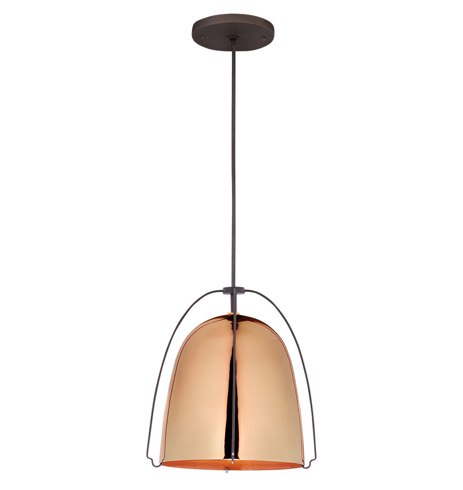 copper mini pendant light. Haleigh Wht 081215 02 Copper White Black A1159 Mini Pendant Light