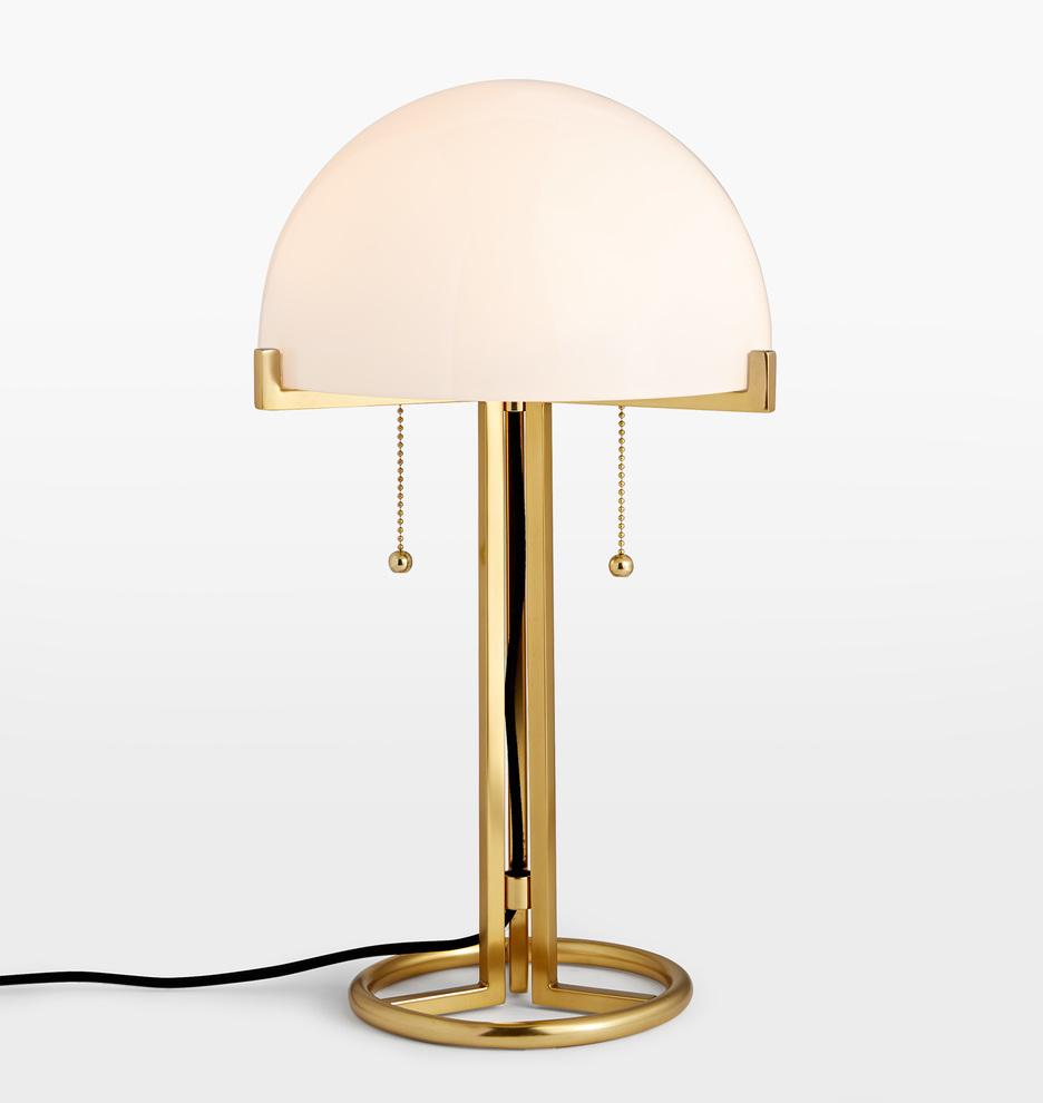 Altadena Glass Shade Table Lamp