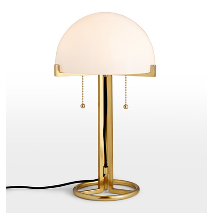Altadena glass shade table lamp