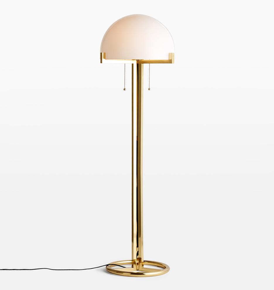 Altadena Glass Shade Floor Lamp