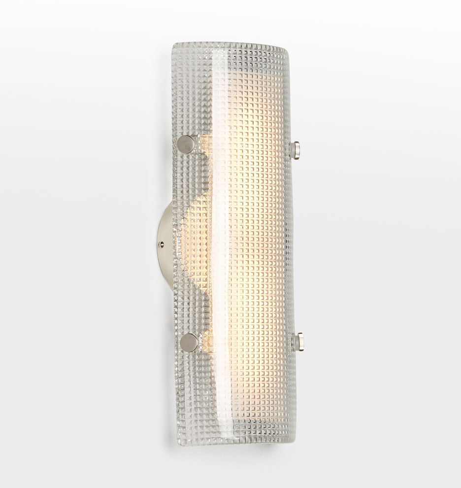 Willamette 16 Led Diamond Glass Wall Sconce Rejuvenation