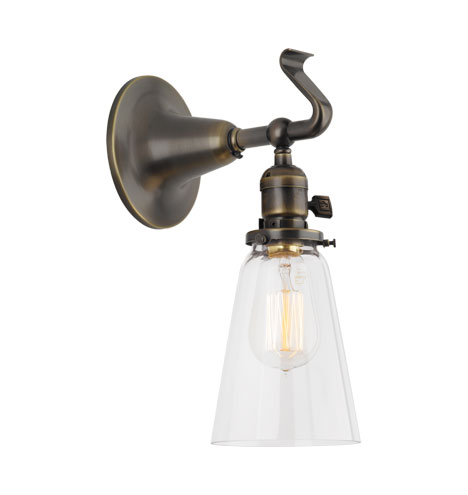 com pl lighting bathroom w sconce good in earth light shop nickel brushed ceiling wall danube sconces arm fans lowes at