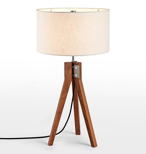 Folk Tripod Table Lamp Rejuvenation