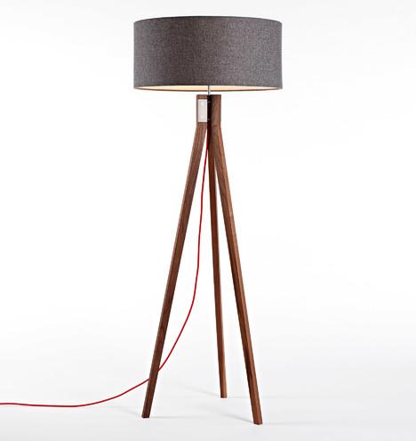 Folk Tripod Floor Lamp Rejuvenation