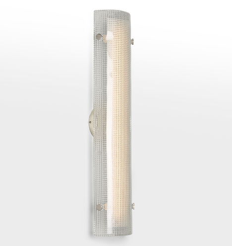 Willamette 28 Quot Led Clear Diamond Glass Wall Sconce