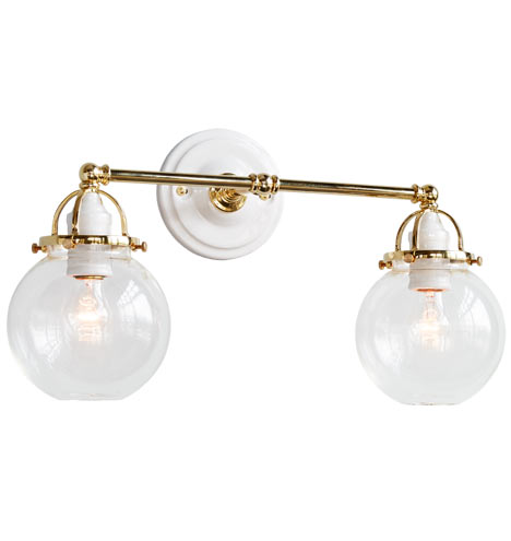 Mist Double Sconce Rejuvenation