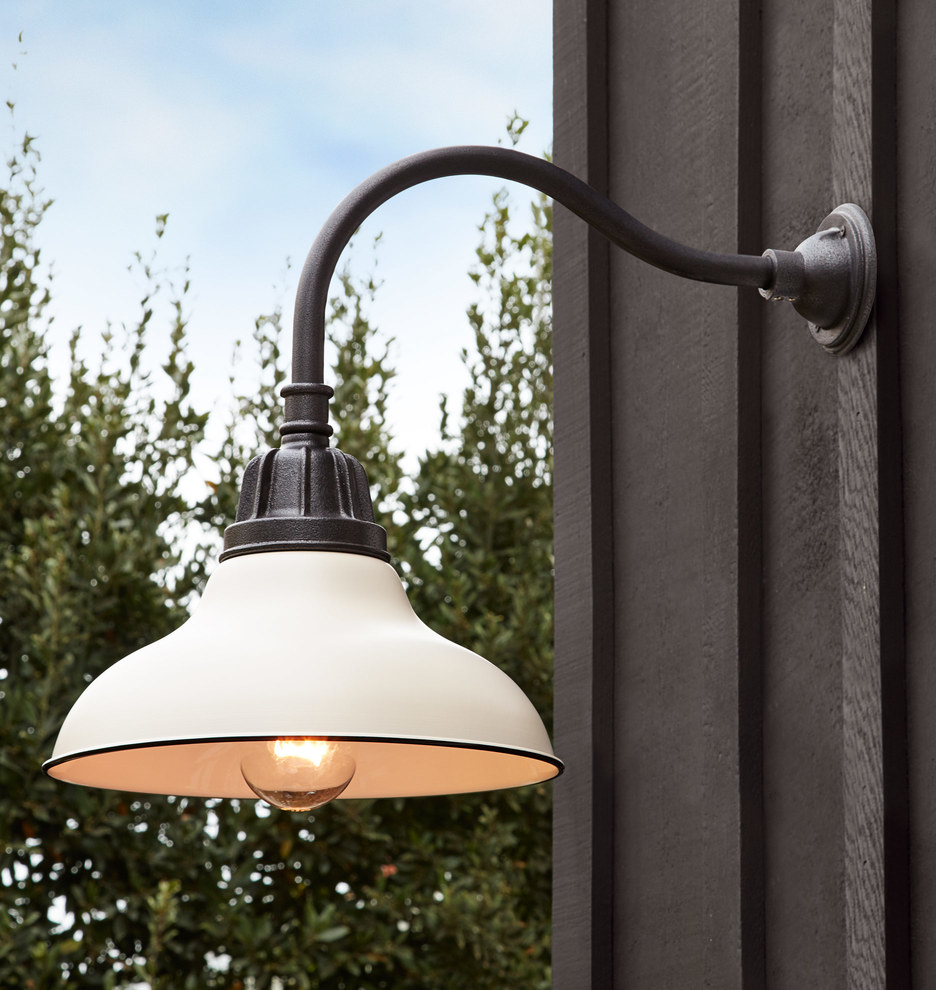 Carson Gooseneck Wall Sconce Rejuvenation