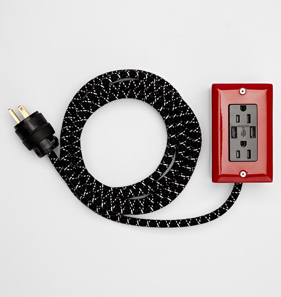 Extō 12ft. Extension Cord with USB | Rejuvenation