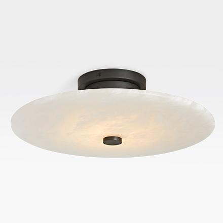 brand new colours Cloe Alabaster 3 Lamp Ceiling light rrp £50