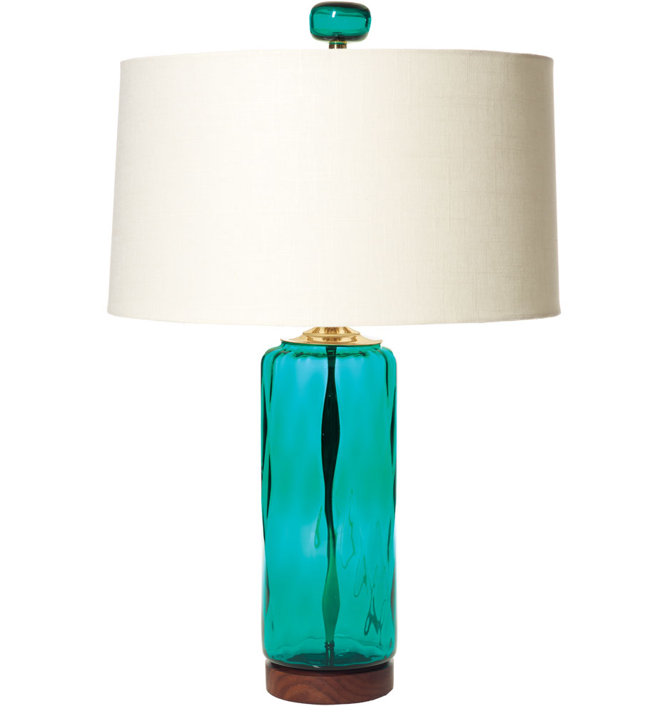 light table demijohn of lamp products shades turquoise