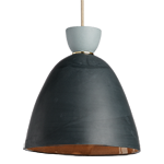 Hazel Large Smooth Bell Pendant