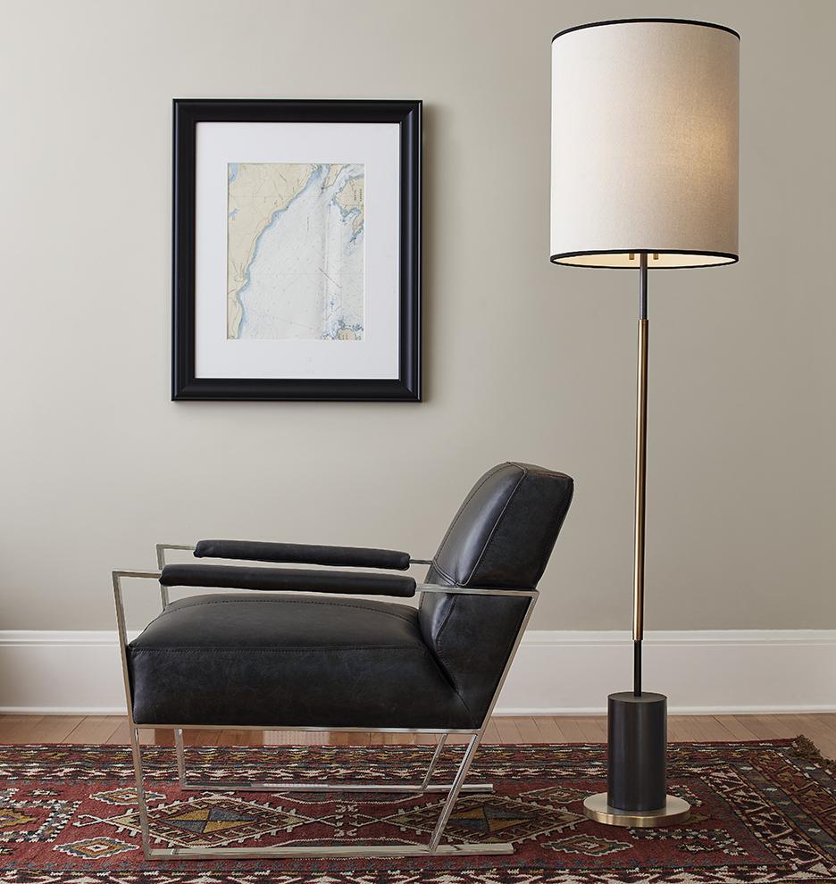 Cylinder Floor Fan : Cylinder floor lamp rejuvenation