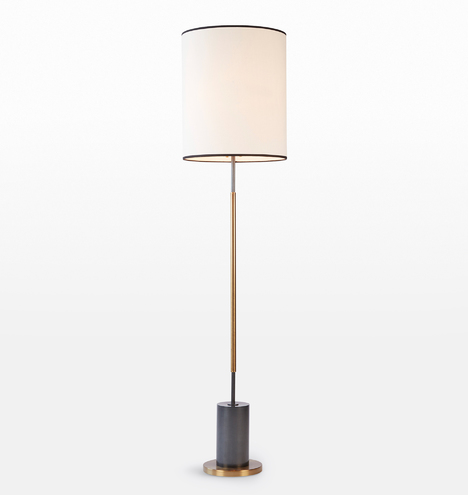 Cylinder Floor Lamp Rejuvenation