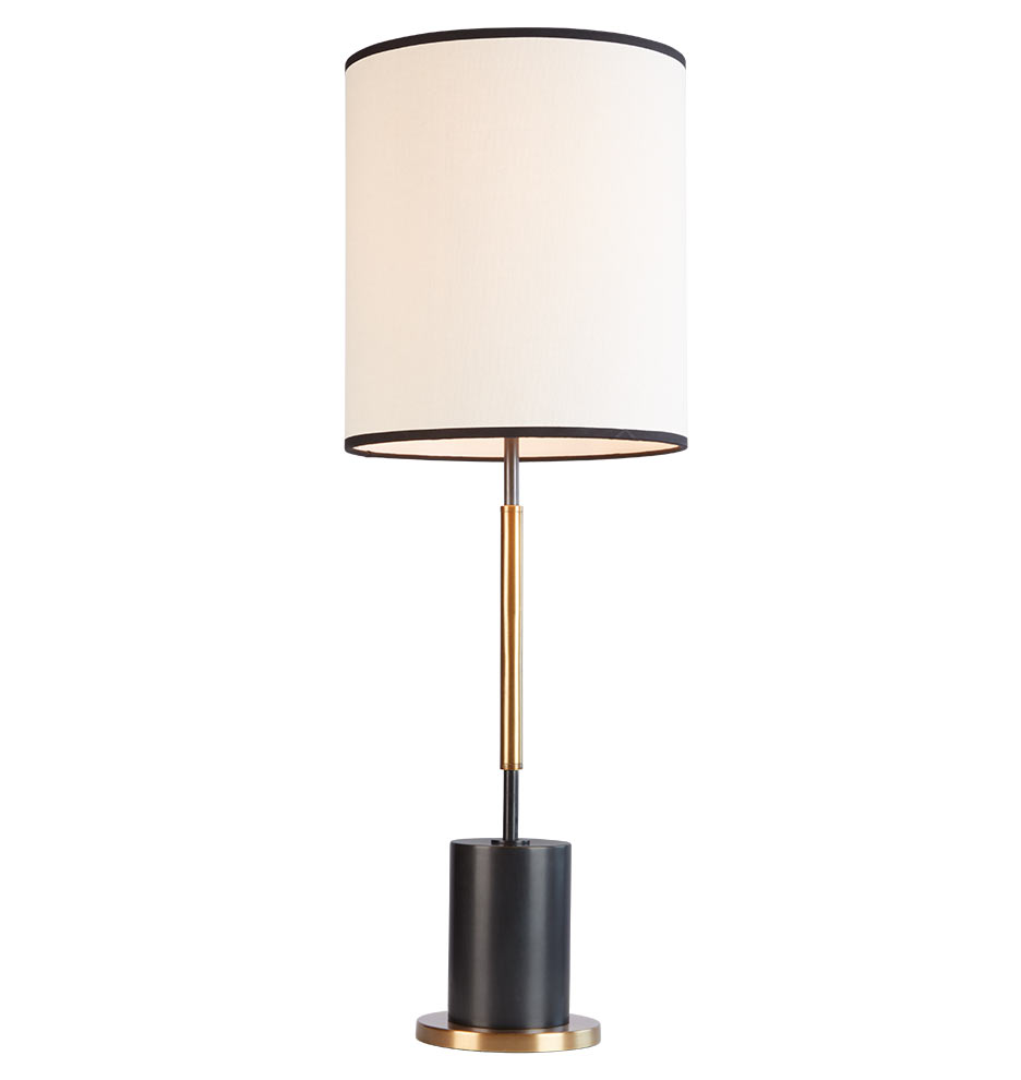 Campaigns Lighting Under 199 Cylinder Tall Table Lamp A6490 052715 1