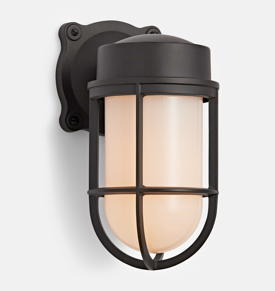 Wall sconce Swing Arm Product Description Our Tolson Cage Wall Sconce Rejuvenation Tolson Cage Wall Sconce Rejuvenation